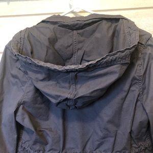 essenza Jackets & Coats - Gray, Hooded Utility Jacket